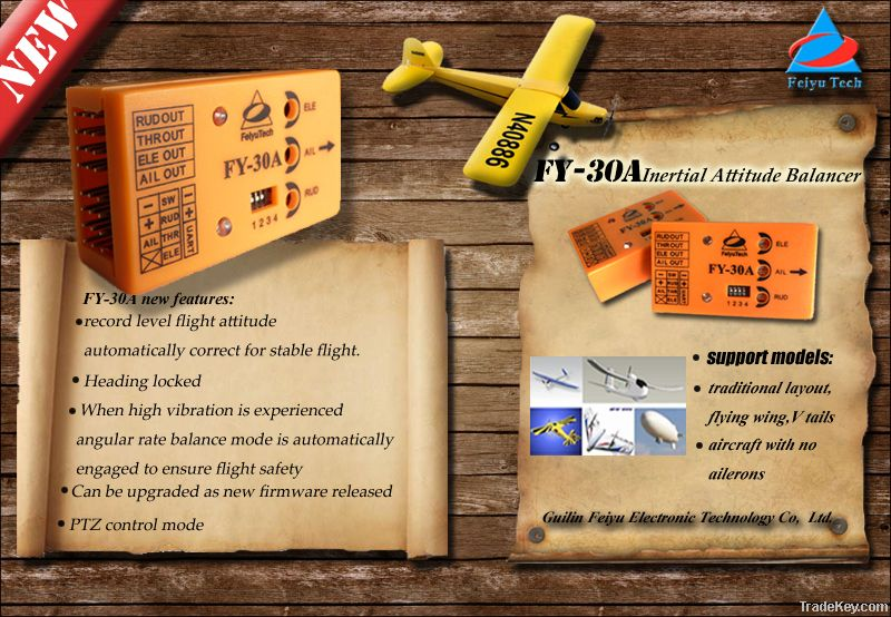 Flight control For Airplane FY-DOS Flight Stabilizer