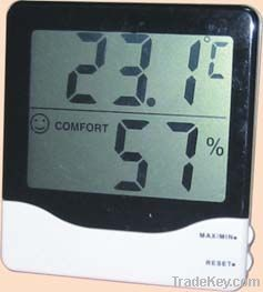 Digital hygrormeter thermometer