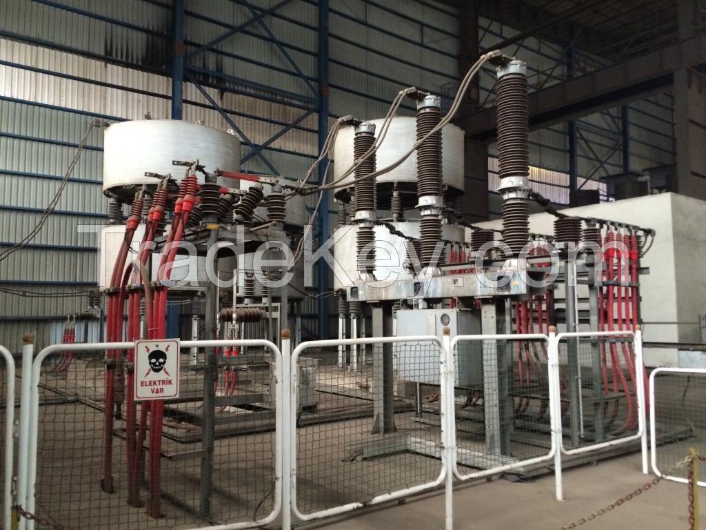 100 ton DC Arc Furnace