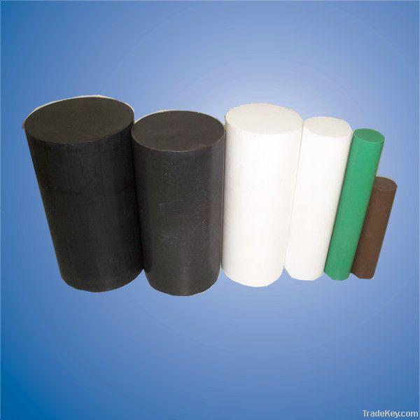 White pure PTFE rod in stock