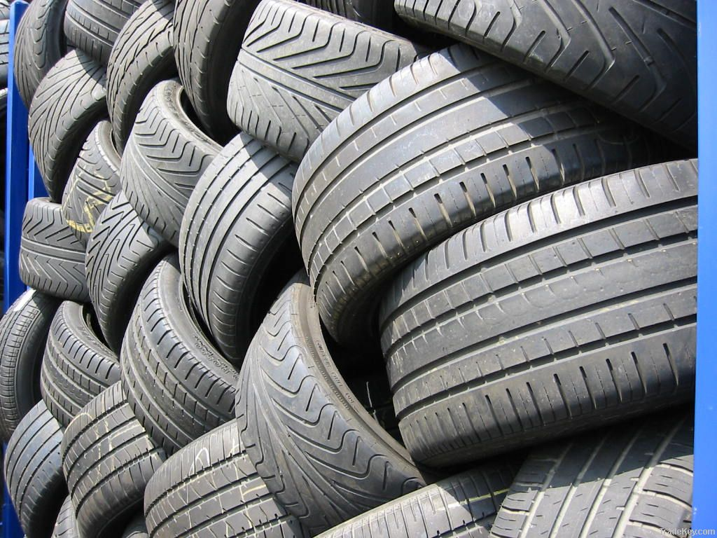 Truck casings and used passenger and truck tires