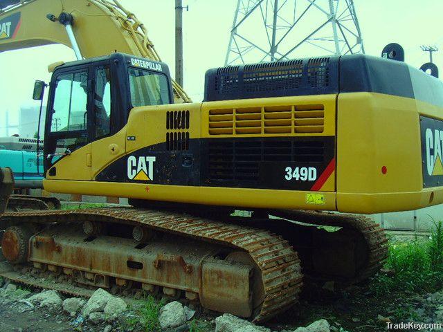 used excavator Cat349D