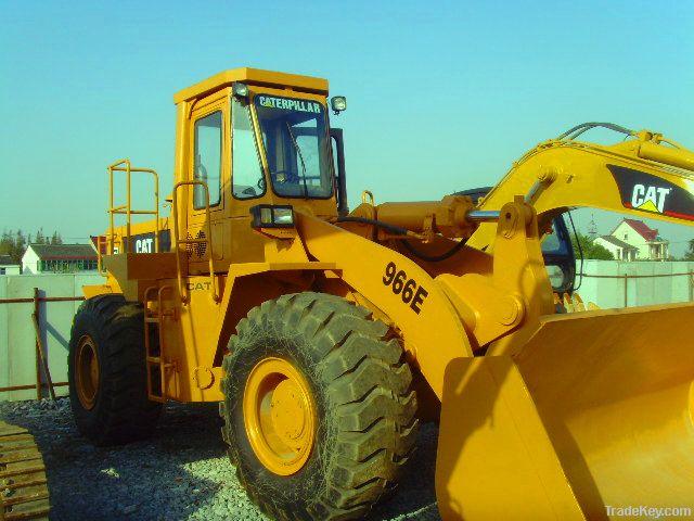 Used wheel loader CAT 966E