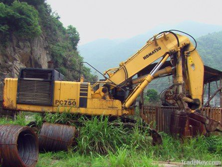 used komatsu PC750-6 excavator