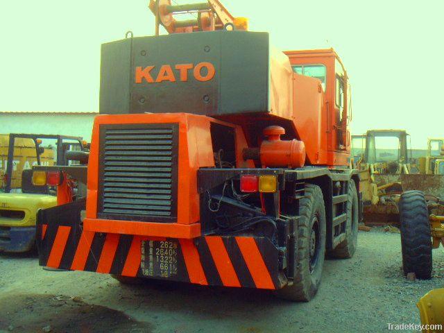 Used KATO KR-25H Truck Crane