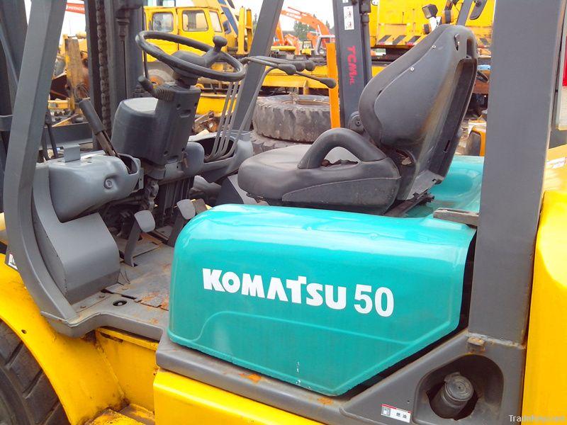Used KOMATSU 50 forklift