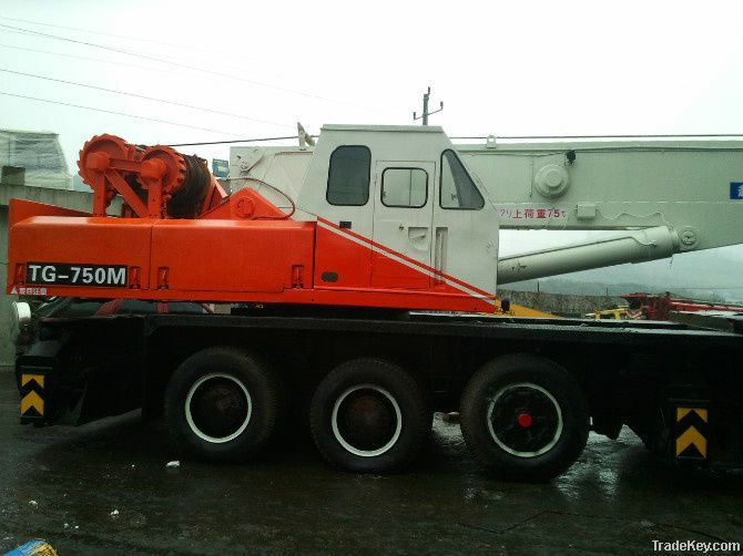 Sell Used TADANO TG-750M Truck Crane