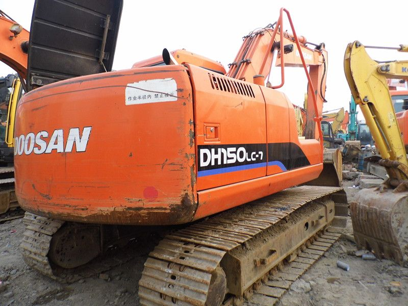 Used DOOSAN DH150LC-7 Excavator for sale