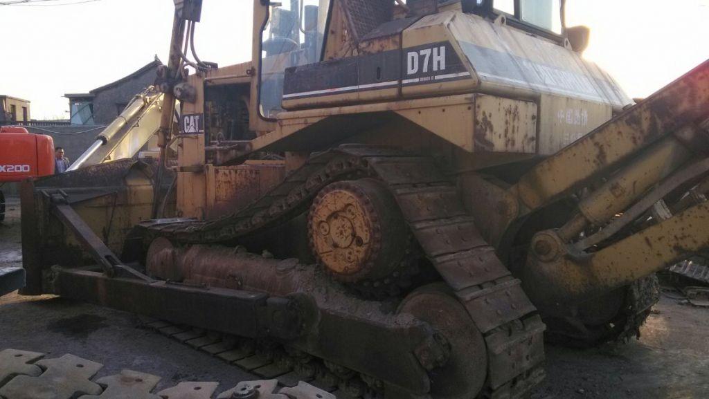 Used CAT D7H Bulldozer sale original japan CATERPILLAR BULLDOZER D7H