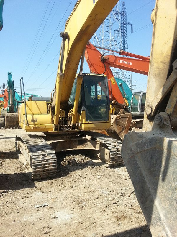 Used KOMATSU PC200-7 Excavator sale original japan Used KOMATSU Excavator PC200-7