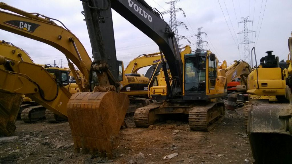Used Volvo EC210BLC Excavator made in Korea Used Volvo Excavator EC210BLC