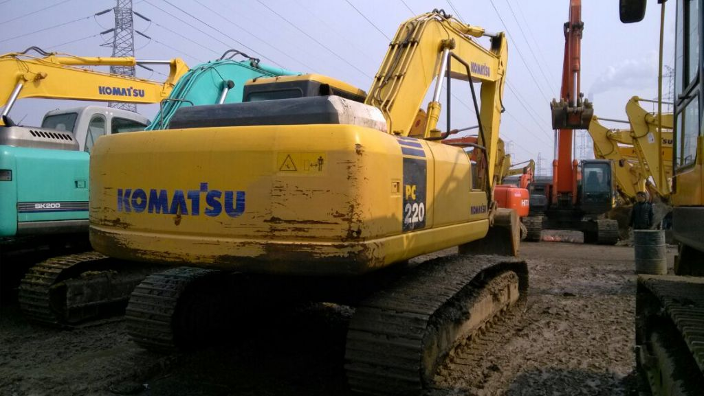 Used KOMATSU PC220-7 Excavator for sale made in japan Used KOMATSU Excavator PC220-7