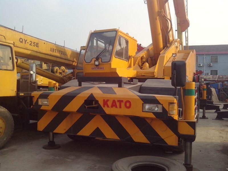 Used KATO KR500-3 Rough Terrain Crane for sale original japan KATO Rough Terrain Crane KR500-3