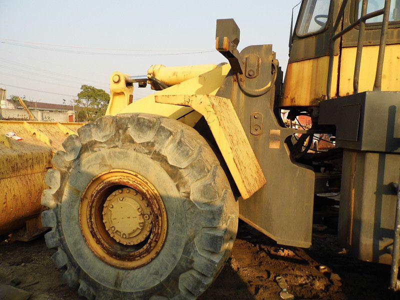 Used CAT 966E Wheel loader for sale china Made in japan