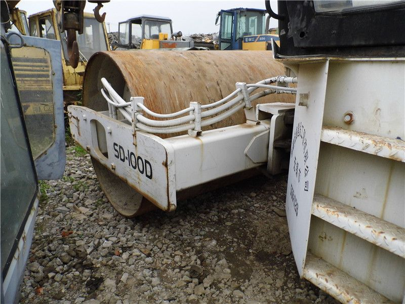 Used INGERSOLL-LAND SD-100D Single Drum Road Roller