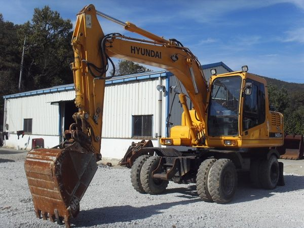 Hyundai R1400W-7, 2007 Machinery Korea