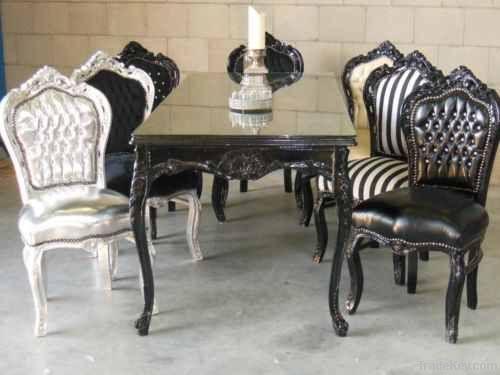 Merveilleux Euroantics New Modern Baroque Chair