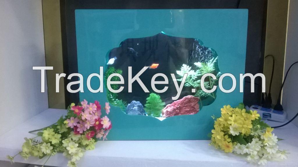 Mini LED Desktop  Light Fish Tank Aquarium