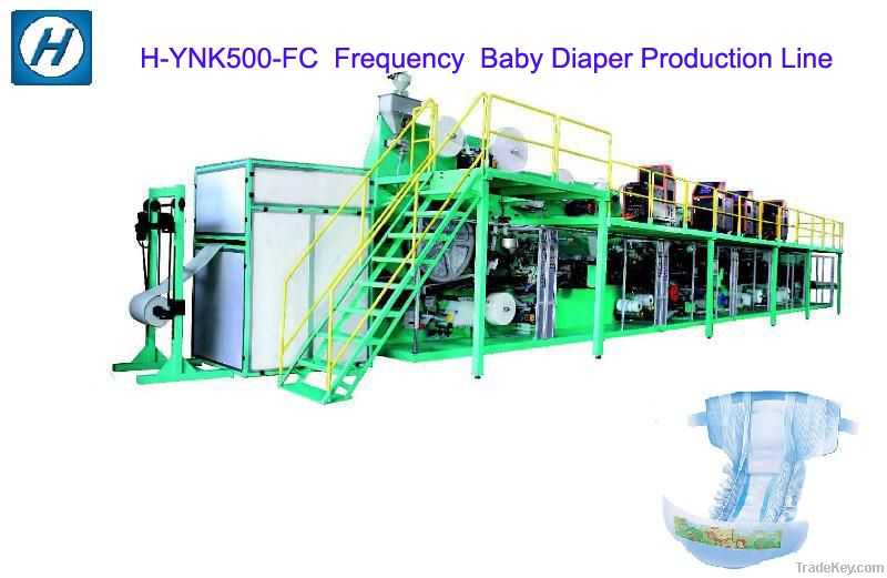 Frequency Baby Diaper Machine