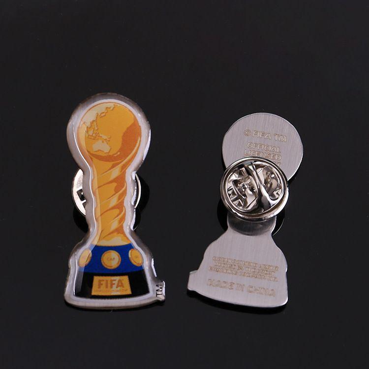 Hard Enamel Lapel Pin Promotional Metal Badge