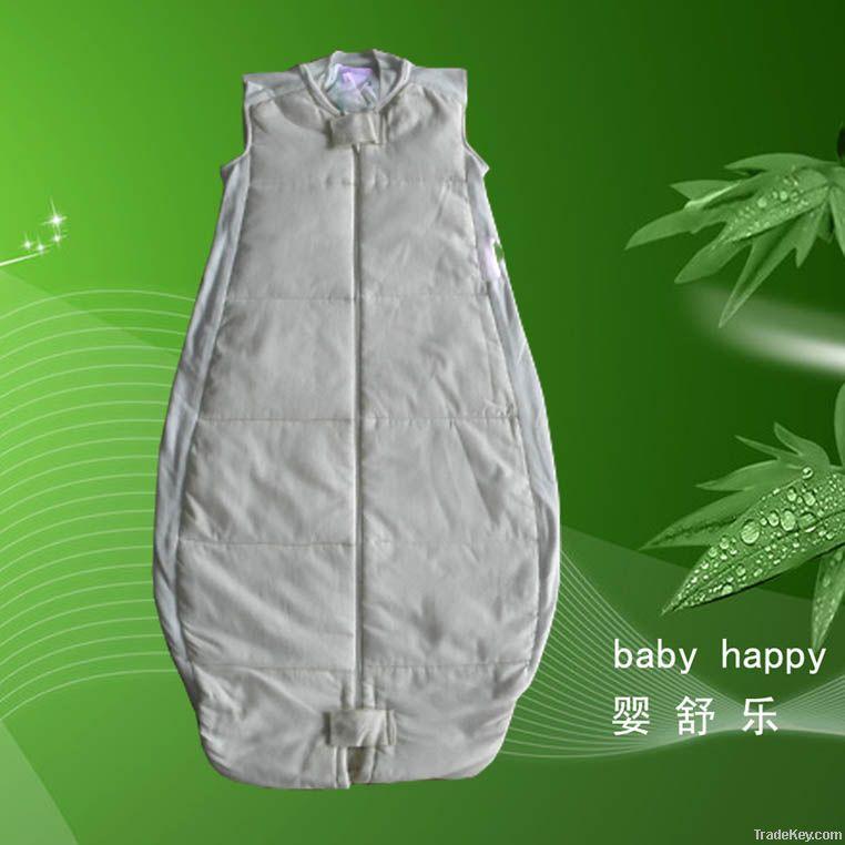 Organic cotton baby sleeping bag