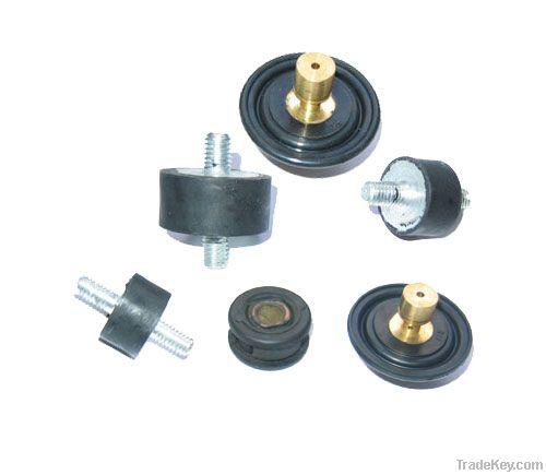 anti-vibration moumting, rubber buffer, rubber mounting