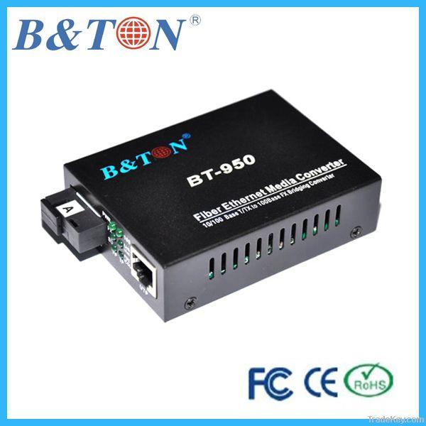 10/1000Mbps Fiber media converter