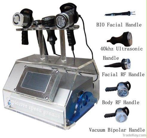 Portable Ultrasonic Liposuction Cavitation RF Slimming Equipment