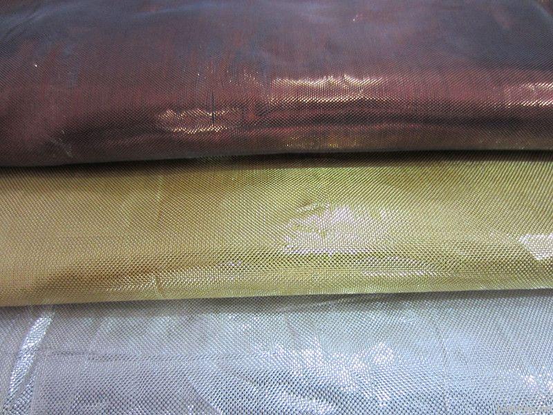 metallic yarn fabric