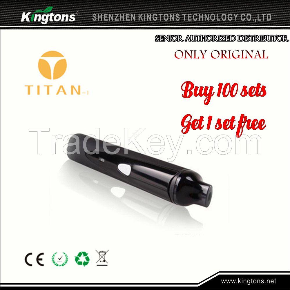 Hot selling in US portable dry herb titan vaporizer, titan 1, vaporizer titan in stock