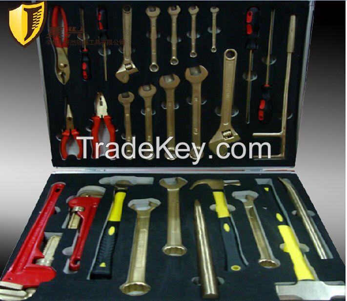 Non sparking Combination Tools Sets, Copper alloy Hand tools