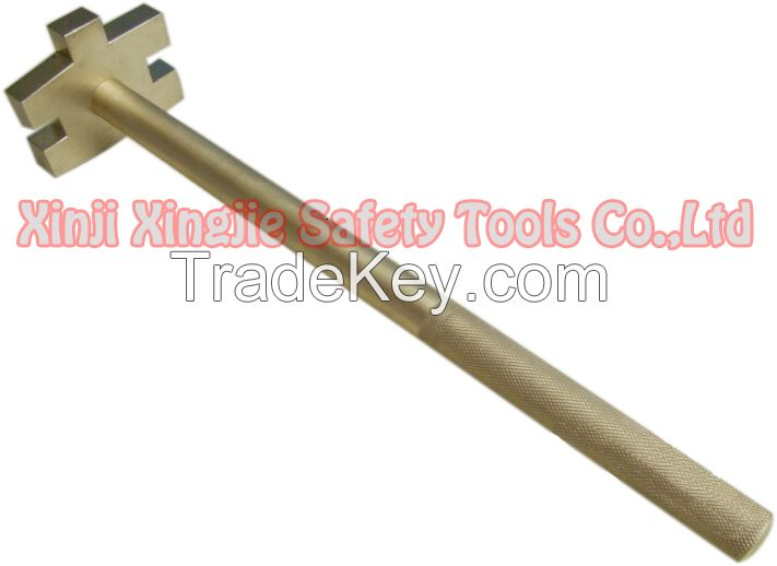 Non sparking Bung Wrench, hand tools