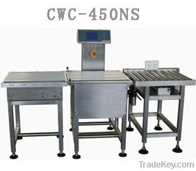 CWC-450NS in motion checkweigher