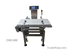 CWC-500NS in motion checkweigher