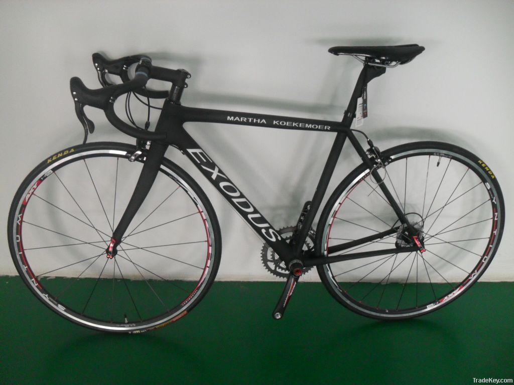 6 kg Factory price new design carbon fiber road bike frame, DRACO matt