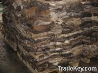Wet salted donkey/cow and sheep hides