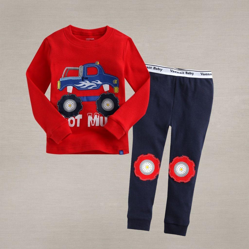 Boys Sleepwear and Night Clothes Cars Design