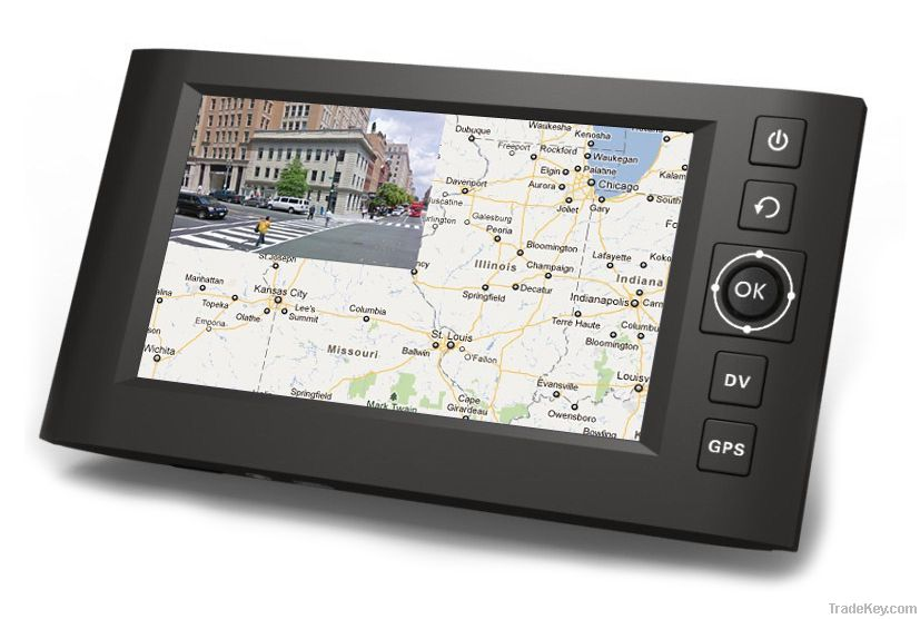 Sell Touch Screen Combo car DVR + GPS with  HD 720P car black box