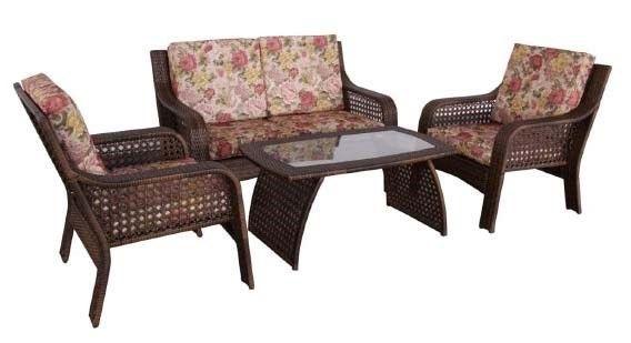 Wicker Furniture Set  garden set XH-0005