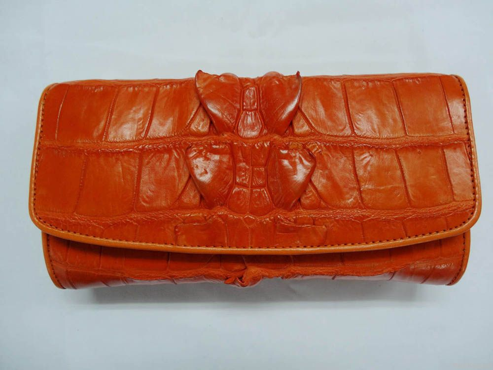Crocodile wallets for ladies