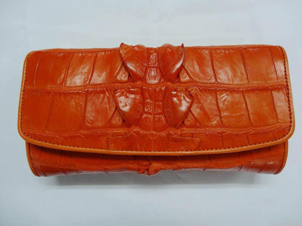 Crocodile wallets for ladies