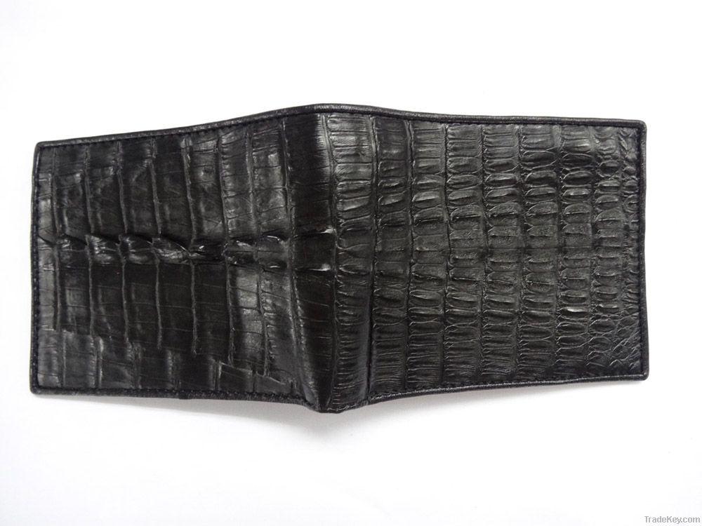 Wallets for men genuine crocodile