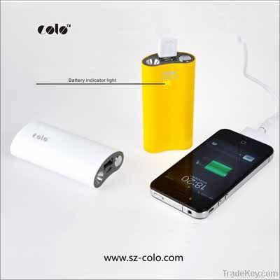Portable mboile phone power bank 4400mah