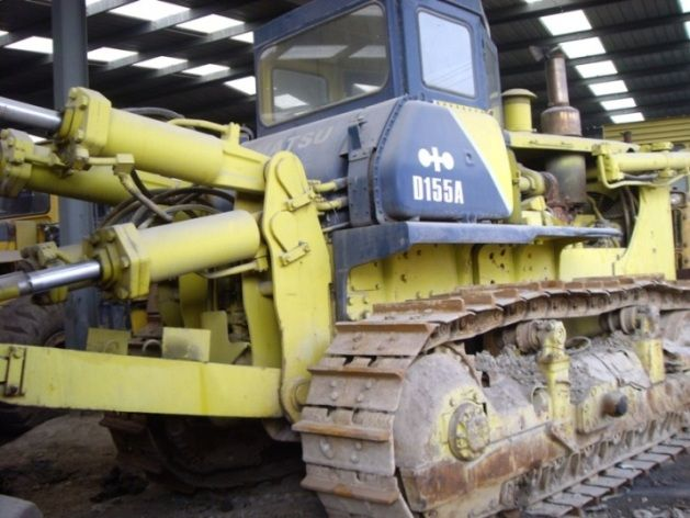 Used Komatsu D155A-2 Crawler Bulldozer