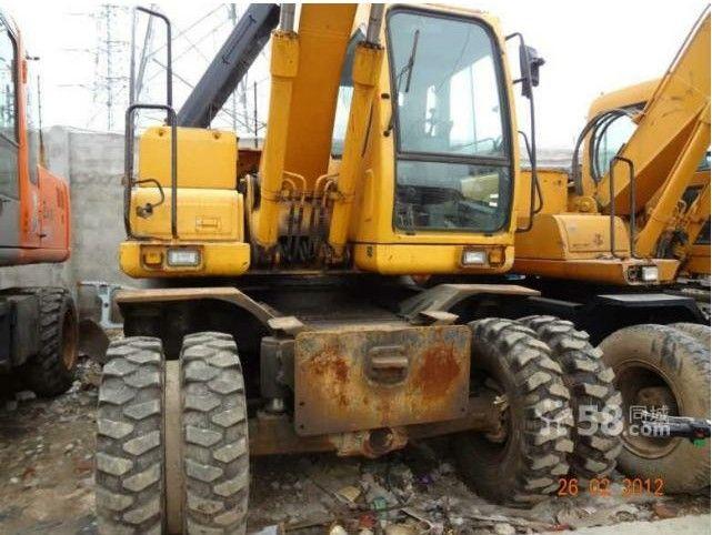 Used Hyundai 150W-7 Wheel Excavator