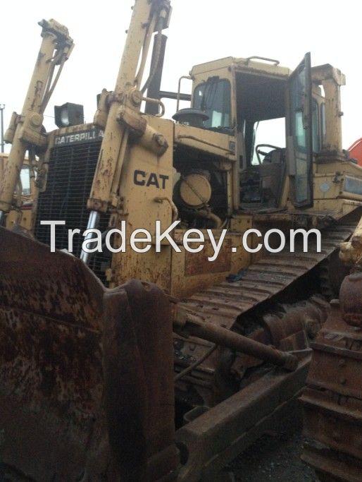 Used  Bulldozer D7H, CAT Crawler Bulldozer D7H