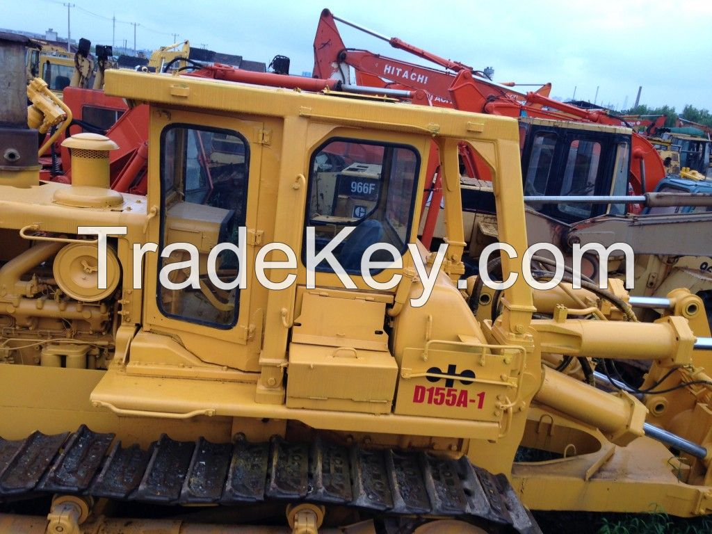 Used Komatsu D155A-1 Bulldozer , Good Quality