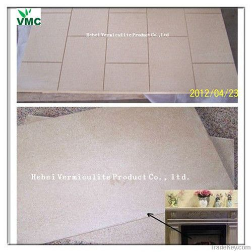 vermiculite board for fireplace