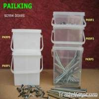 Screw buckets, Fastener pails, Nail boxes, Screw Containers