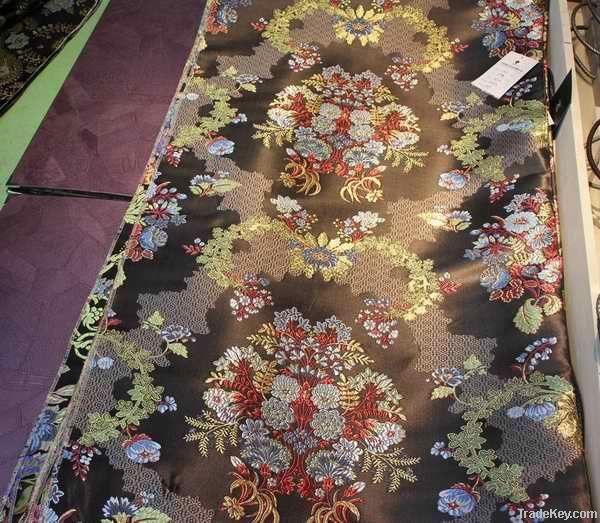 yarn-dyed high-density jacquard fabric
